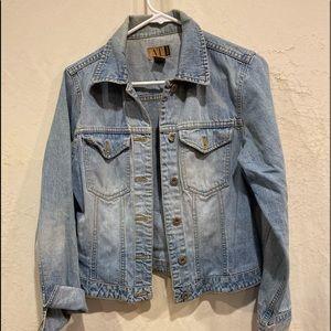 Ann Taylor vintage 100% cotton denim jacket